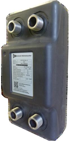Plattenwärmetauscher Produkte - gelötet und geschraubte PWT